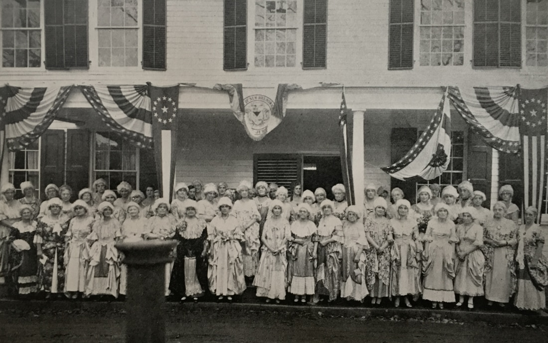 Jersey Blue Chapter New Brunswick Colonial Tea 1930
